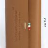 203 Liscio Money/Card Liscio Seta marrone chiaro
