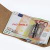 210_liscio Money/Card Liscio Seta giallo scuro