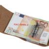 Money/Card Liscio Seta marrone chiaro 211_liscio