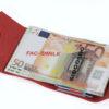 Money/Card Liscio Seta rosso 212_liscio
