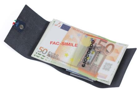 giocondo 206 Liscio money/card blue aperto