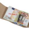224 GIOCONDO Money/Card Pelle ruvida saffiano ghiaccio pastello aperto