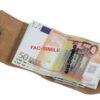 225 GIOCONDO Money/Card Pelle ruvida saffiano grigio pastello
