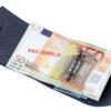 230_RUVIDO 222 Ruvido Money Card saffiano bluer elettrico